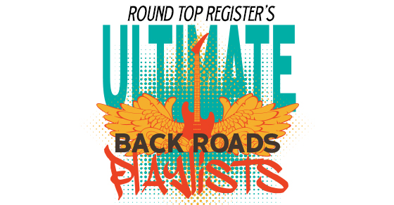 Round Top Register Back Roads Playlist Art
