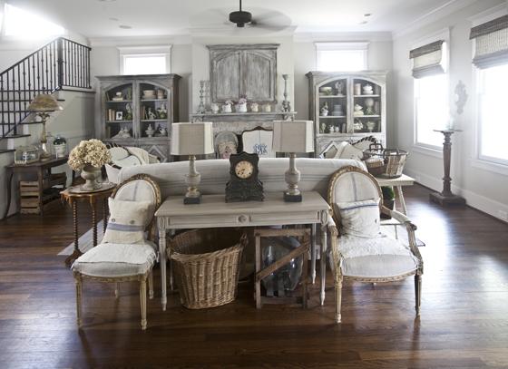 Anita Joyce open concept living room