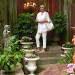 Alisanne Wonderland in Round Top garden pottery photo