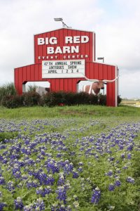 Big Red Barn Event Center Sign