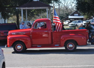 Things to do in the Roundtopolis Round Top Christmas parade red truck