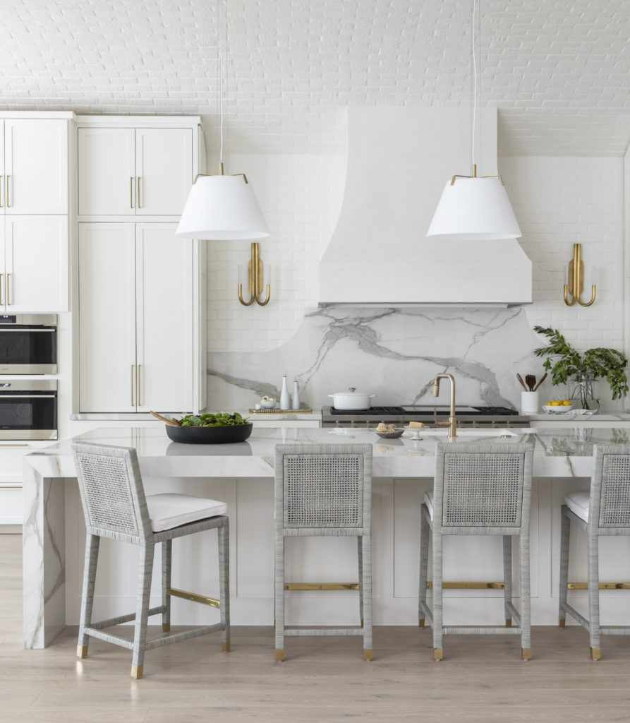 A gorgeous family kitchen by Marie Flanigan